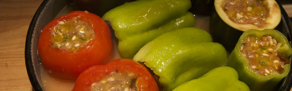 Dolma (stuffed vegetables)